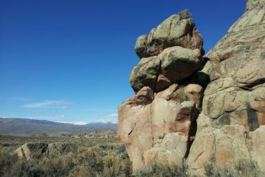 Hartman Rocks near downtown Gunnison