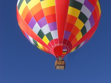 hot air balloon, Gunnison