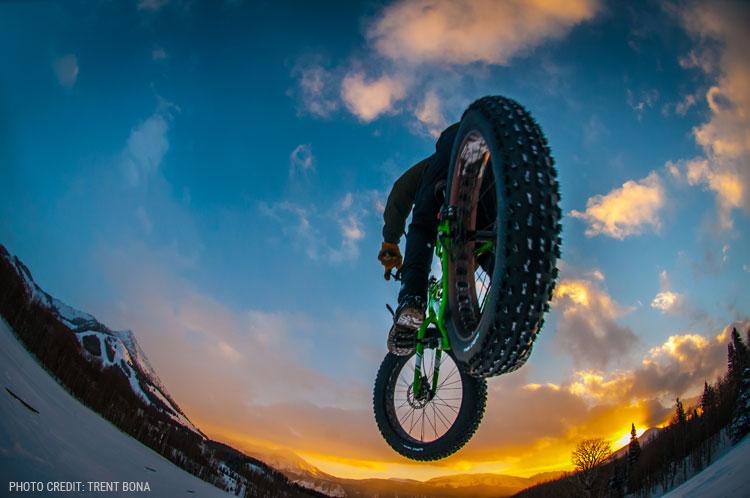 fat biking in the Gunnison Valley
