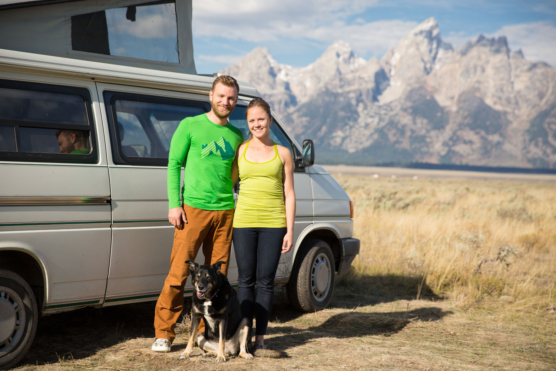 heather balogh rochfort plus dog and husband
