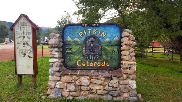 pitkin colorado population strange