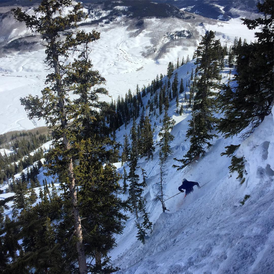 third bowl at crested butte
