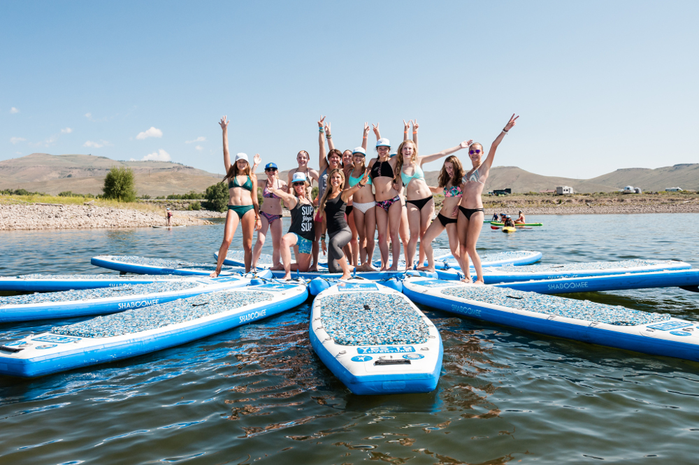 blue mesa beach bash sup event colorado