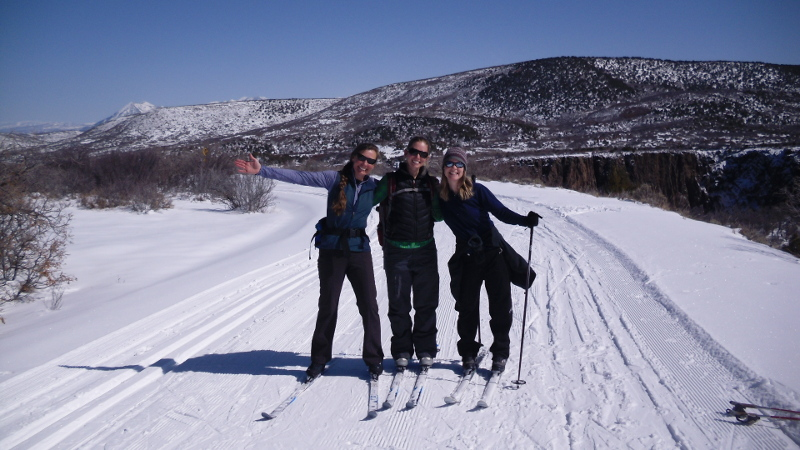 nordic skiing events at the black canyon gunnison national park