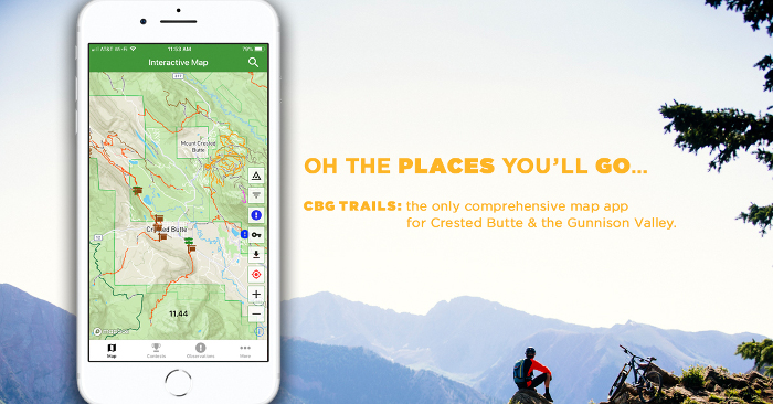 cbgtrails is the only complete map of the gunnison valley trail network