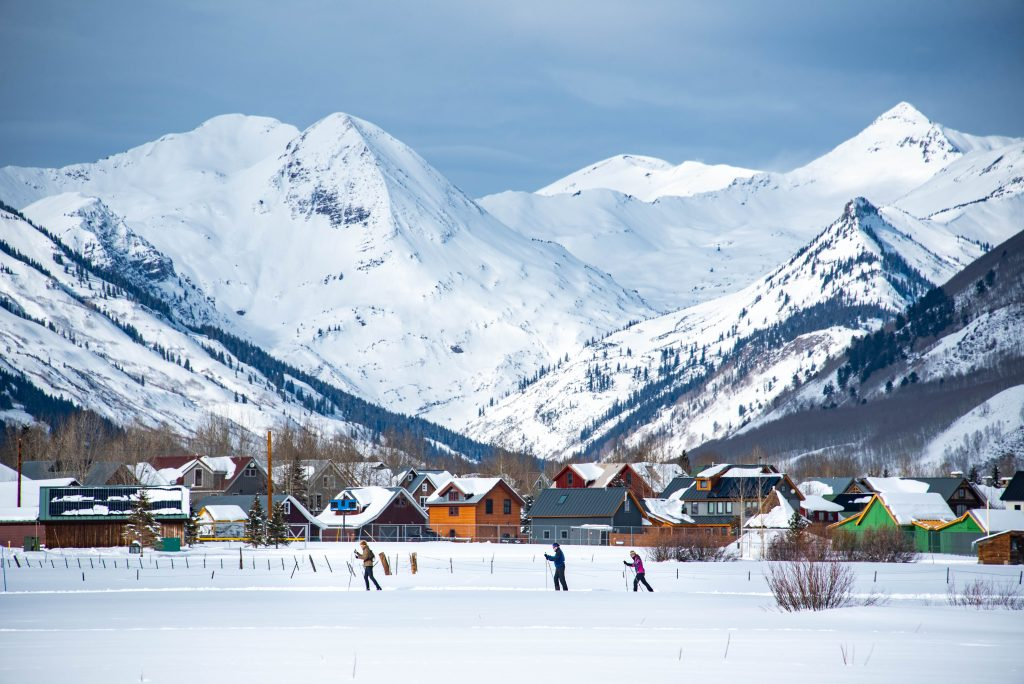 Nordic skiing in Crested Butte, Colorado