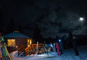 magic meadows yurt dinner