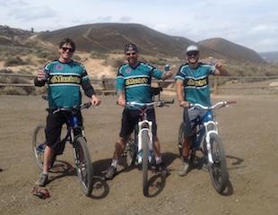 mountain biking at Hartman Rocks