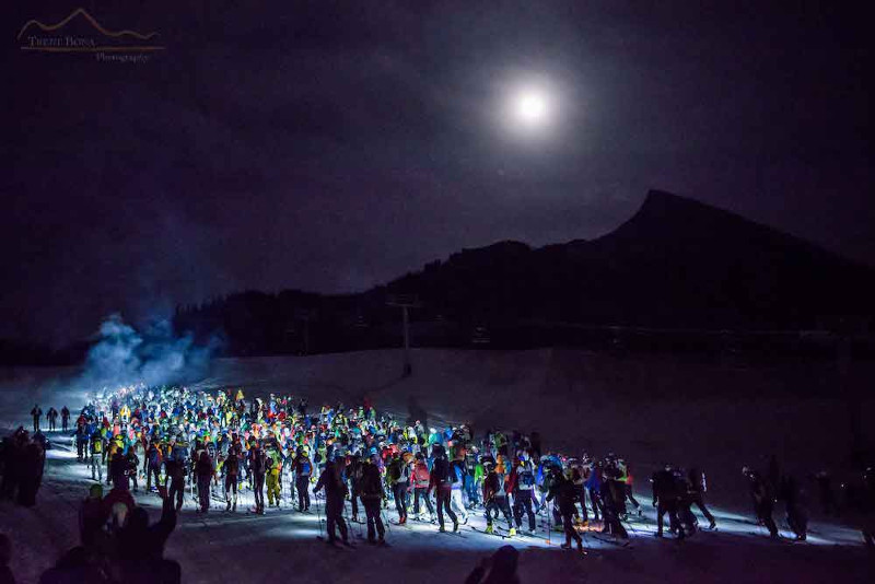 Gunnison Valley winter events 2020 the grand traverse ski race start crested butte