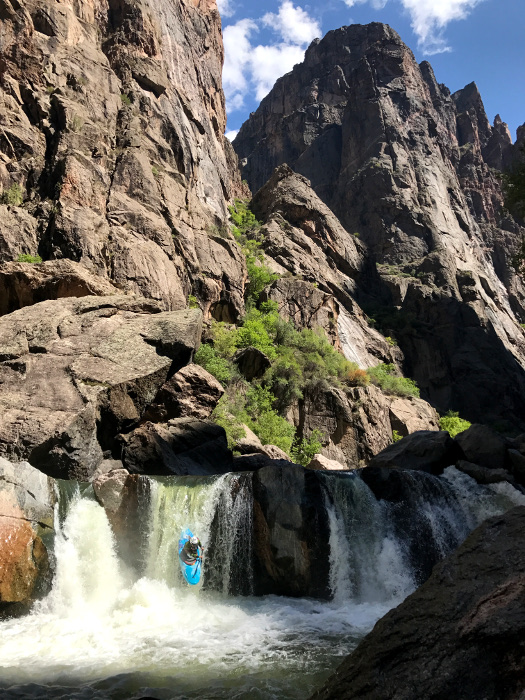 black canyon kayaker