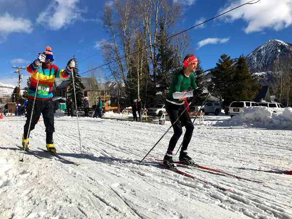 alley loop nordic race crested butte