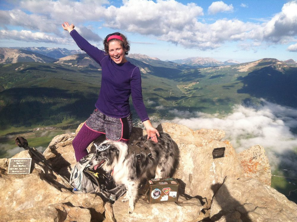summit of crested butte mountain