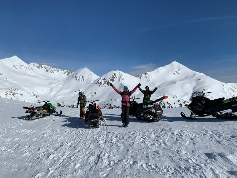 snowmobiling near gunnison colorado