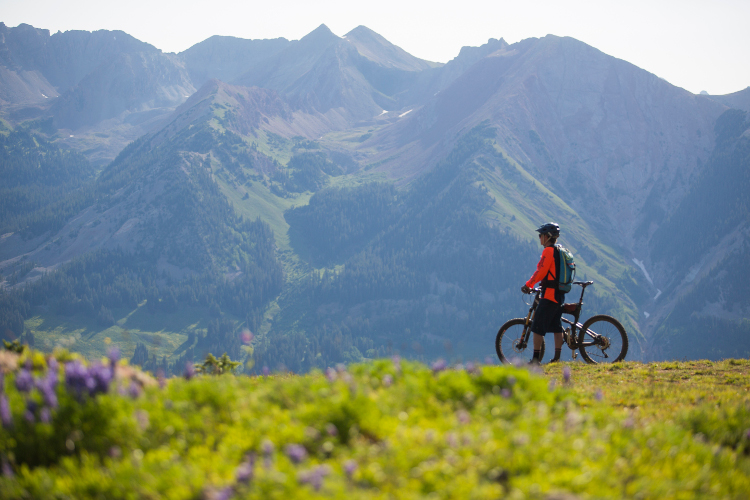 riding bikes in crested butte and the gunnison valley