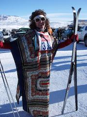 kenny mac ski fest costume, gunnison