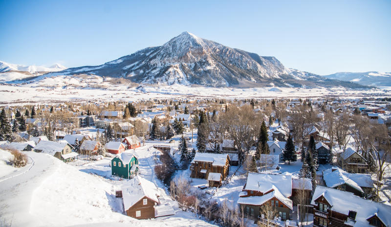 open views crested butte