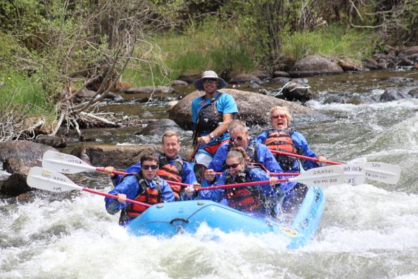 Upper taylor rafting