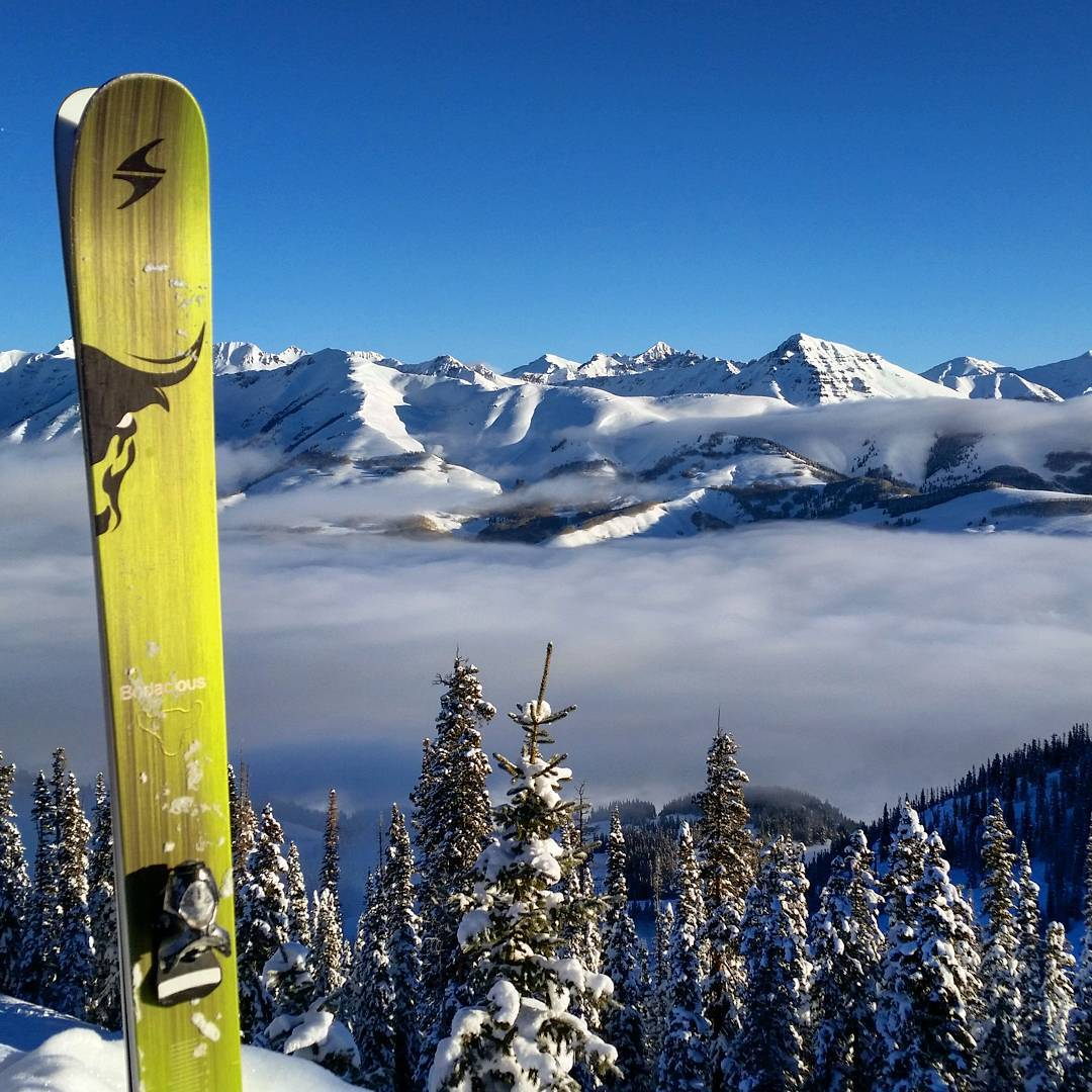 Inversion from new terrain opening