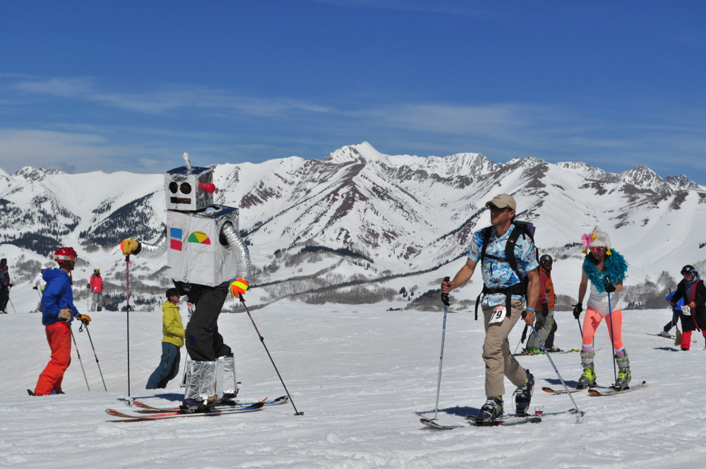 Spring Break in Crested Butte means fun events and funky parties