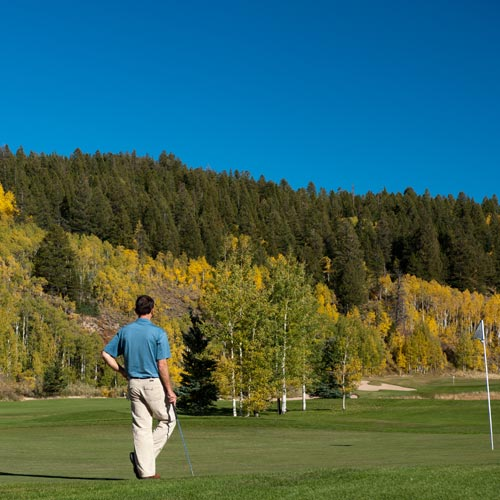 golf, crested butte, fall