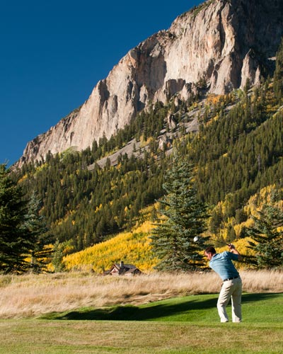 golf, crested butte, par