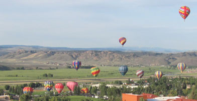 gunnison balloon rally, independence day weekend