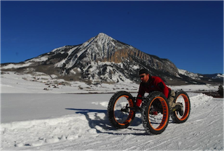 fat bike handcyclist
