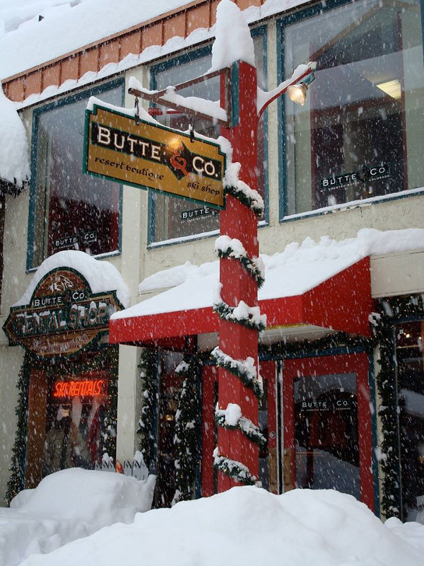 butte & co ski and snowboard shop