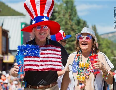 4th of July in Crested Butte, Colorado