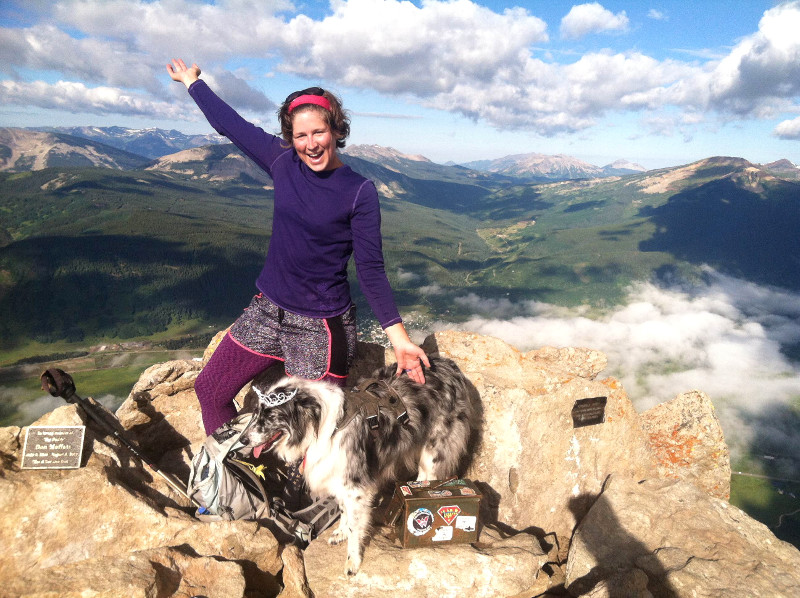 hiking trails crested butte summit