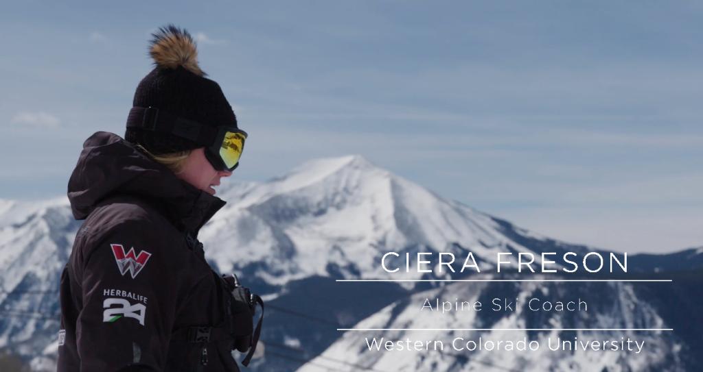 ciera freson alpine ski coach western colorado university