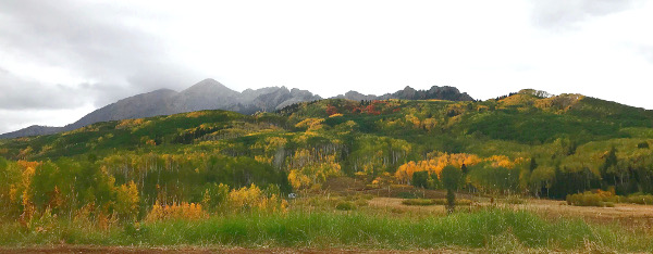 the dyke in fall colors