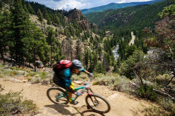 taylor canyon mountain bike ride