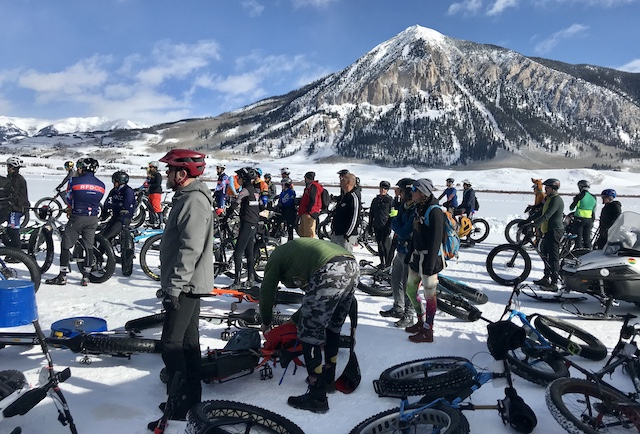 Experience the start of 2020 Fat Bike Worlds