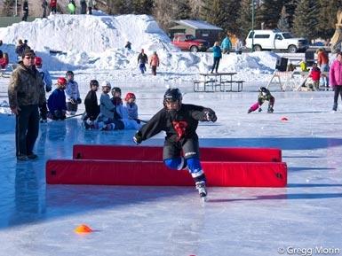 ice skating in gunnison