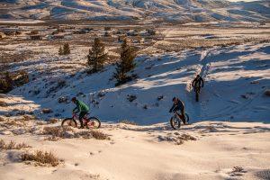 Hartman Rocks winter fat biking
