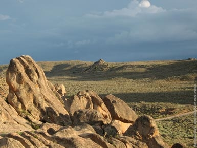 rock formations at Hartman Rocks