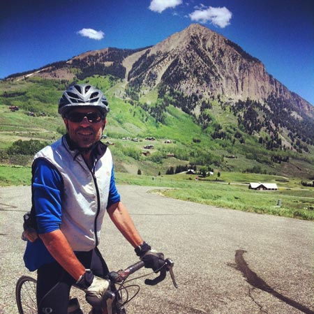 riding bikes in Crested Butte