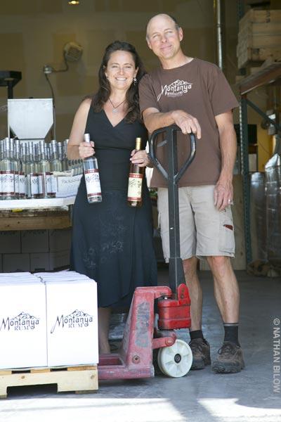 Karen and Brice Hoskin of Montanya Distillers