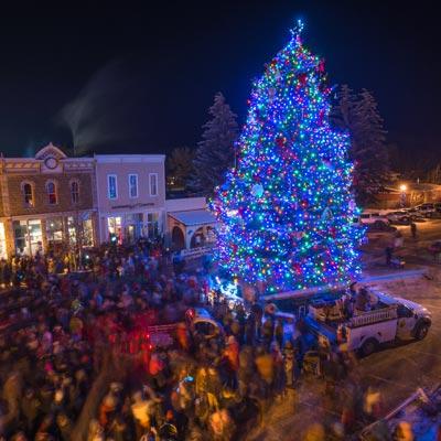 gunnison holiday tree by dave kozlowski photography - Colorado Christmas