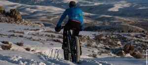 fat biking Hartman Rocks near Gunnison