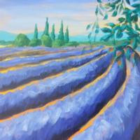 lavender fields, canvases and cocktails, crested butte