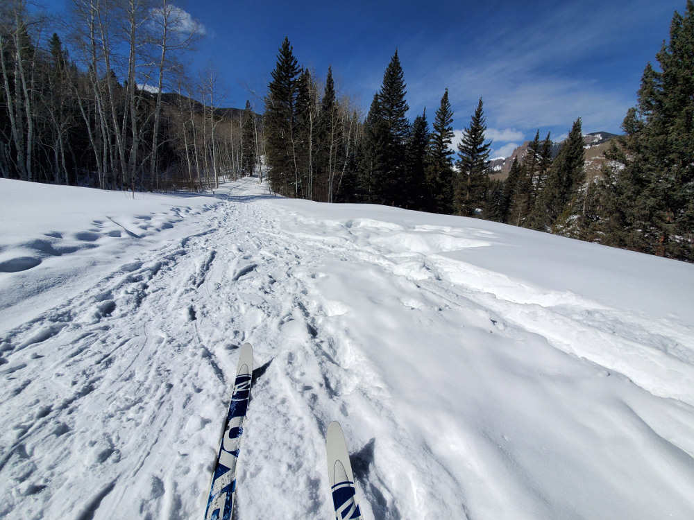 Cross-country skiing Mill Creek