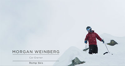 Screenshot of Morgan Weinberg from his Never-Never Land Episode