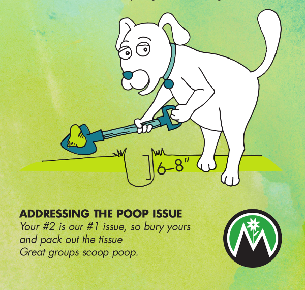 mountain manners poop
