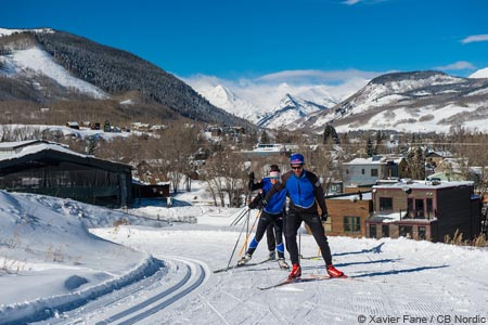 nordic skiing near crested butte
