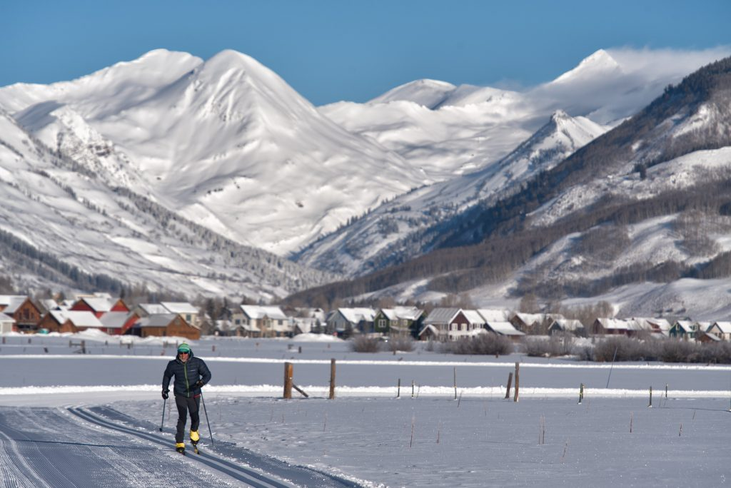 Nordic skiing at Crested Butte