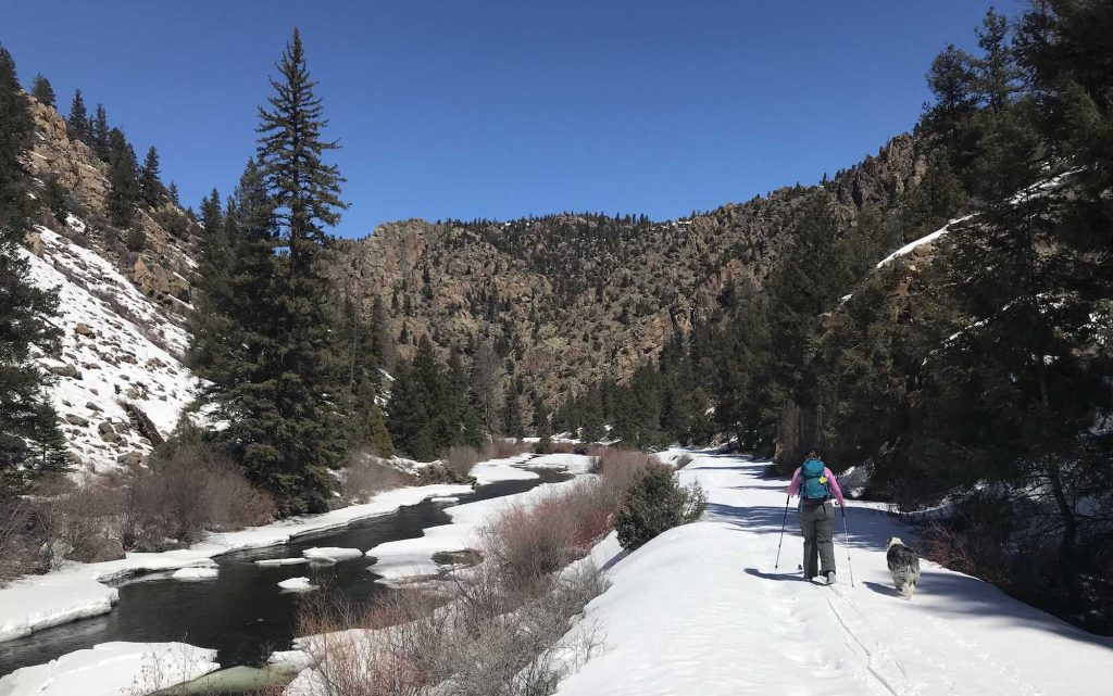 Nordic skiing in Gunnison County
