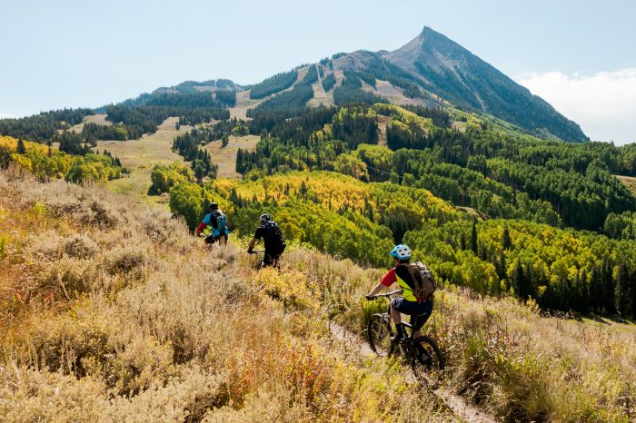 summer outerbike at evolution bike park crested butte colorado