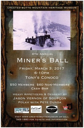 Miner's ball in crested butte